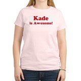 Kade is Awesome Women's Pink T-Shirt