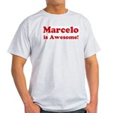 Marcelo is Awesome Ash Grey T-Shirt