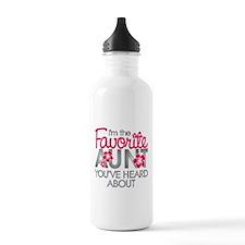 Favorite Aunt Water Bottle