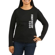 Everest Base Camp vertical Long Sleeve T-Shirt