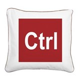 Cute Awesome Square Canvas Pillow