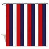 Flag for america Shower Curtain