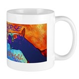 Crazy Horse Smile Design &amp; Saying Mug