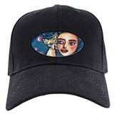 Chihuahua polka dot kiss Baseball Hat