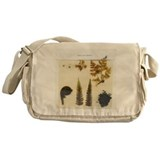 Fern specimens - Messenger Bag
