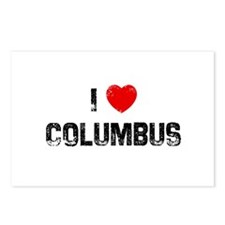 I * Columbus Postcards (Package of 8)