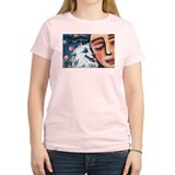 Eskie kiss Women's Pink T-Shirt