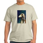 SALUKI port Ash Grey T-Shirt