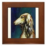SALUKI port Framed Tile