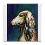 SALUKI port Tile Coaster