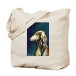 SALUKI port Tote Bag