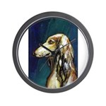 SALUKI port Wall Clock