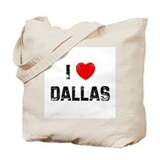 I * Dallas Tote Bag