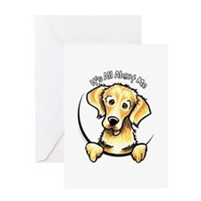 Golden Retriever IAAM Greeting Card