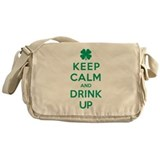 Keep Calm and Drink Up Messenger Bag