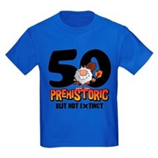 Prehistoric 50th Birthday T
