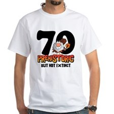 Prehistoric 70th Birthday Shirt