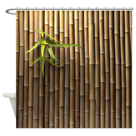 asian design shower curtain