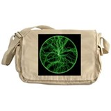 Plasma disc - Messenger Bag