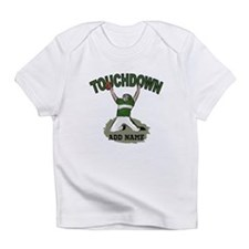personalized Grid iron footballer Infant T-Shirt