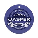 Jasper Midnight Ornament (Round)