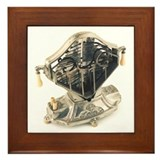 Sweetheart Toaster Framed Tile