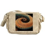 Dragon tail fractal - Messenger Bag