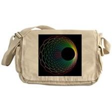 Carbon nanotube - Messenger Bag
