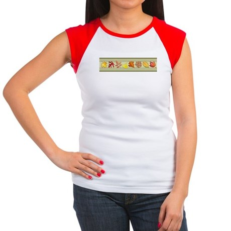 Leaves Women's Cap Sleeve T-Shirt