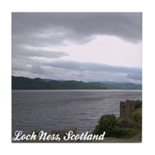 Loch Ness Ceramic Coaster