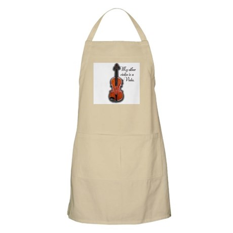 My other violin is a Viola. BBQ Apron