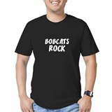 BOBCATS ROCK Black T-Shirt