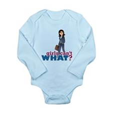 Female CEO Long Sleeve Infant Bodysuit