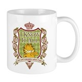Know It All Garfield Small Mug