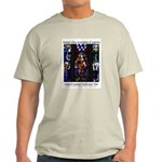 Stained Glass Ash Grey T-Shirt