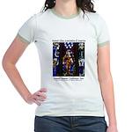 Stained Glass Jr. Ringer T-Shirt