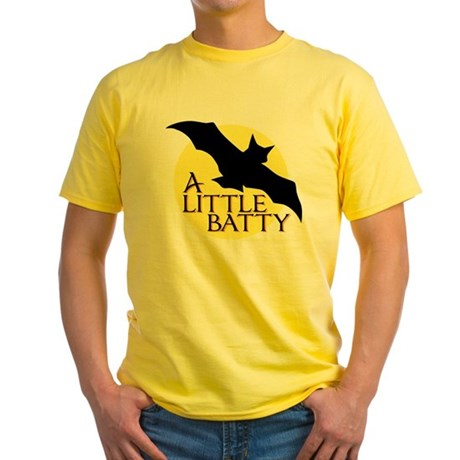 A Little Batty Yellow T-Shirt