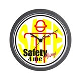 Safety 4 Me Wall Clock