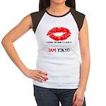 Women's Custom Cap Sleeve T
