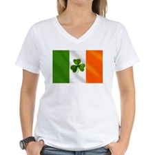 Irish Shamrock Flag Shirt