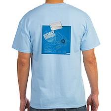 Rotary Engine Blue Print T-Shirt