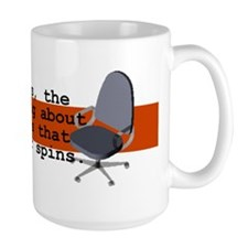 Spinning Chairs Work Mug Mug