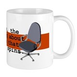 Spinning Chairs Work Small Mug Small Mug