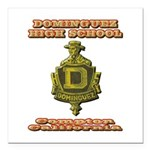 Dominguez High School Square Car Magnet 3