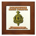 Dominguez High School Framed Tile