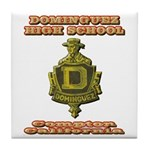 Dominguez High School Tile Coaster