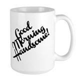 Good morning Large Mug (15 oz)