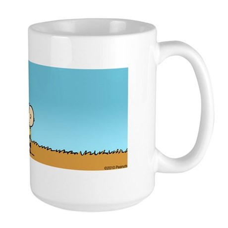 The Great Pumpkin is Coming Large Mug