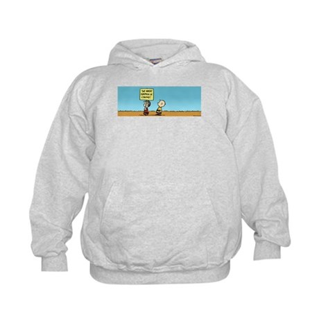 The Great Pumpkin is Coming Kids Hoodie