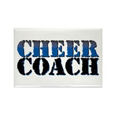 Cheer Coach Rectangle Magnet (10 pack)